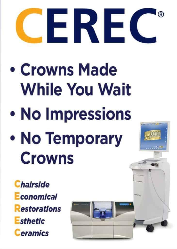 CEREC Same Day Crowns in Siren
